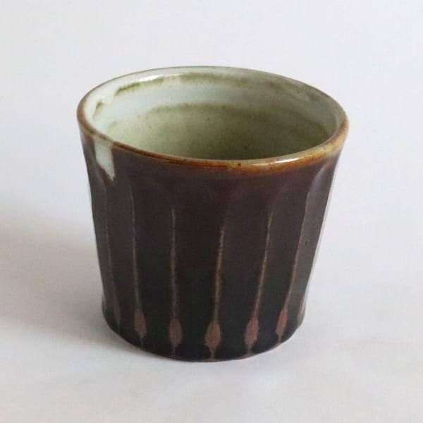 飴釉しのぎカップ