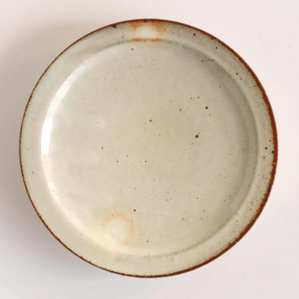 銘々皿 粉引