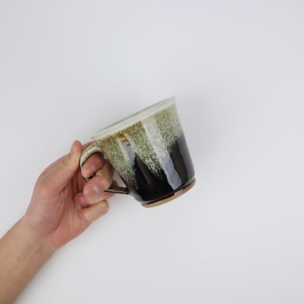 【大塚雅淑】飴釉マグカップ