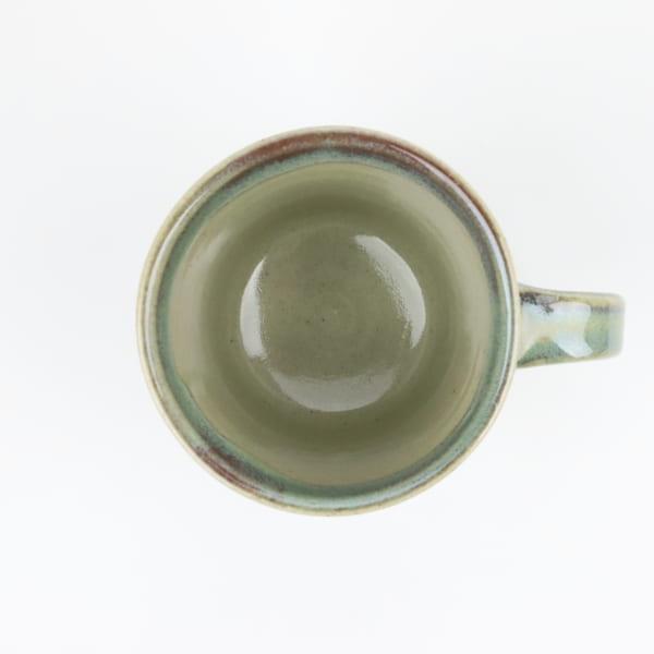【大塚雅淑】青磁釉マグカップ