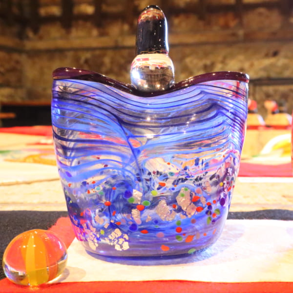 【間宮香織】ガラスのおひなさまA